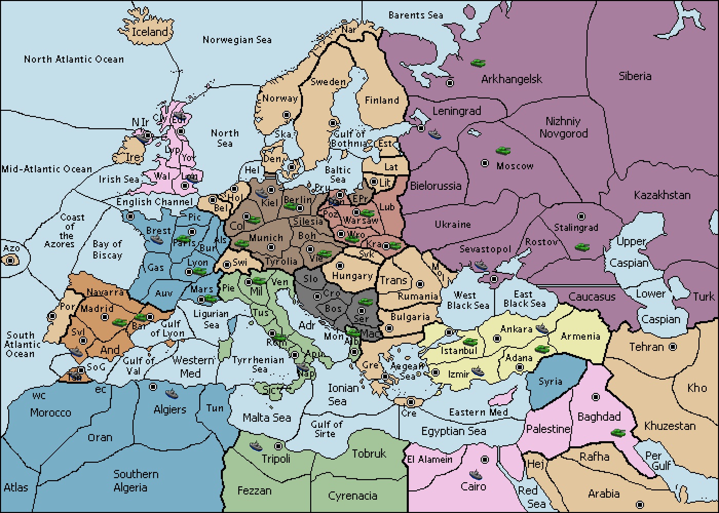map quiz of europe in 1939