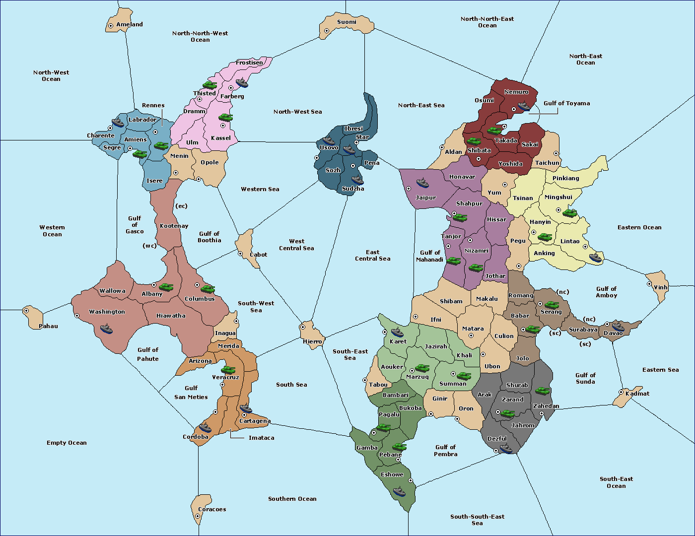 Variants - vDiplomacy