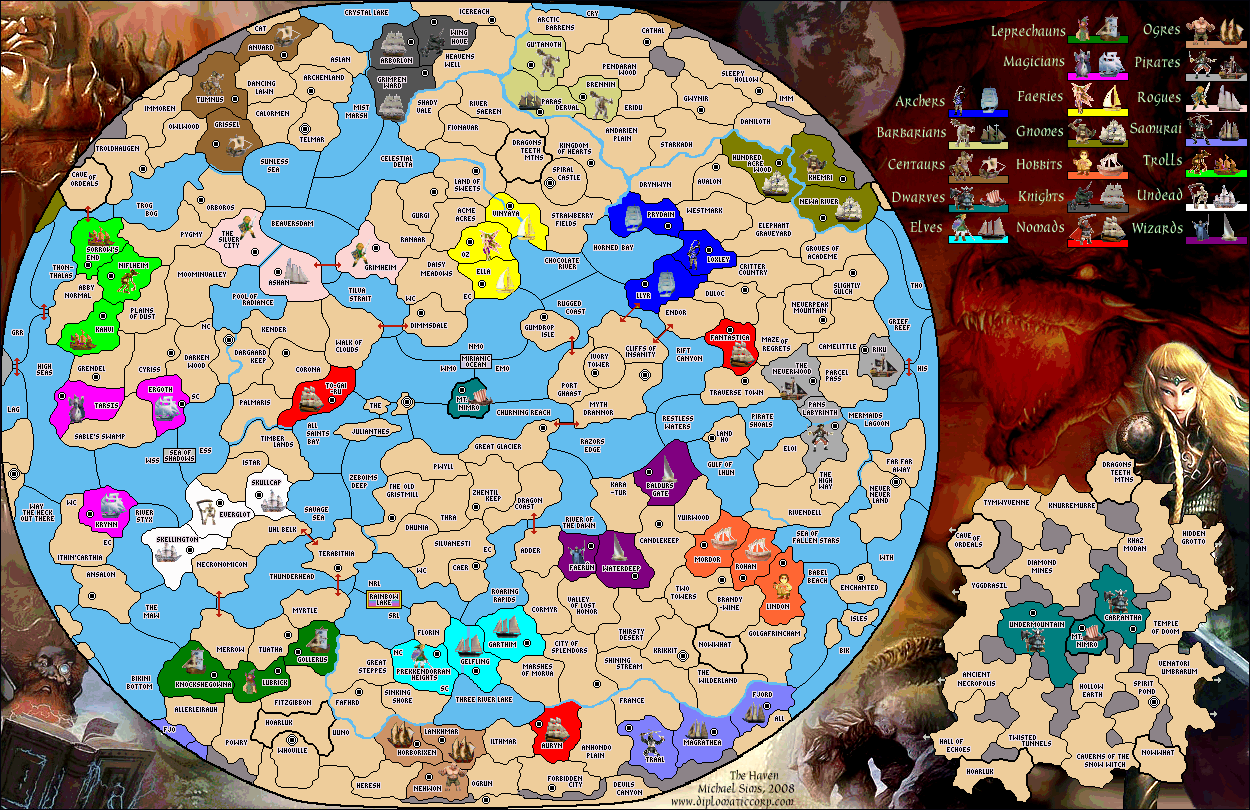 Open large map