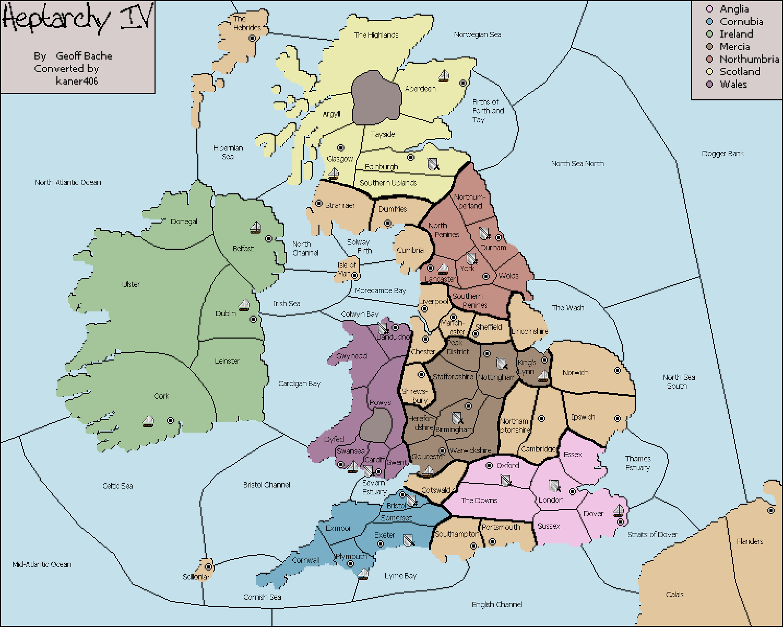 Mercia England Map.Variants Vdiplomacy